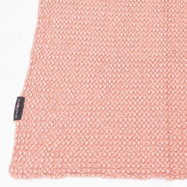 Babydecke VIGO Waffeldecke rosa 70x90 cm, David Fussenegger