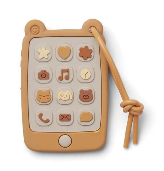 Liewood Spielzeug-Telefon Gelb_LW12933-2900