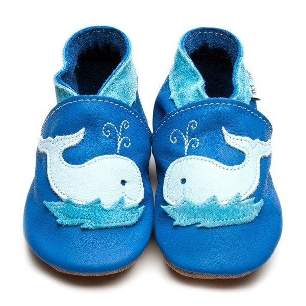 Inch Blue Babyschuhe Outdoor Wal Blau