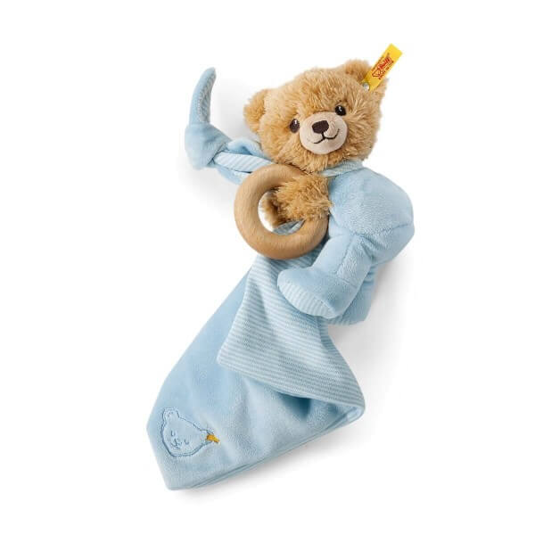 Steiff Schlaf-gut Bär 3 in 1 Blau