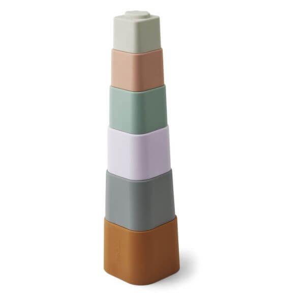 Liewood Stapelturm Becher bunt_LW14216-9504