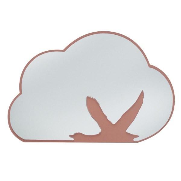 Sebra Spiegel Motiv Wolke und Schwan