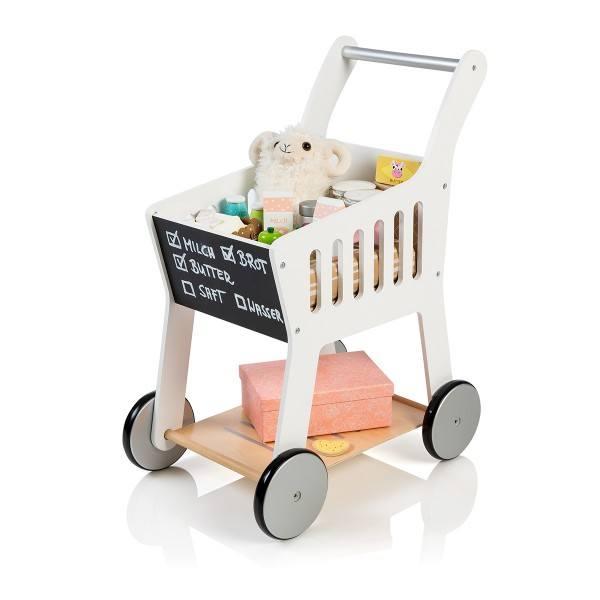 MUSTERKIND® Einkaufswagen Rubus Weiß