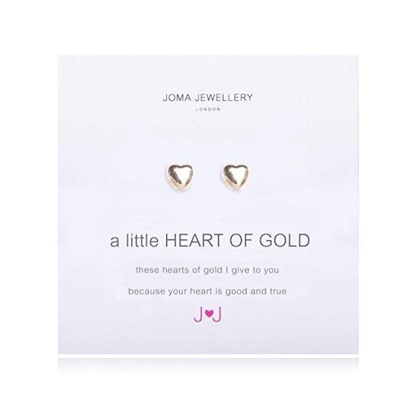 "Joma Jewellery Ohrringe ""Heart of gold"""