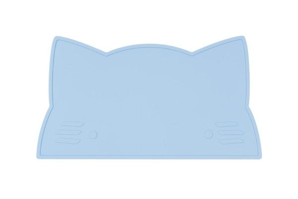 We MIght Be Tiny Platzset Katze Blau