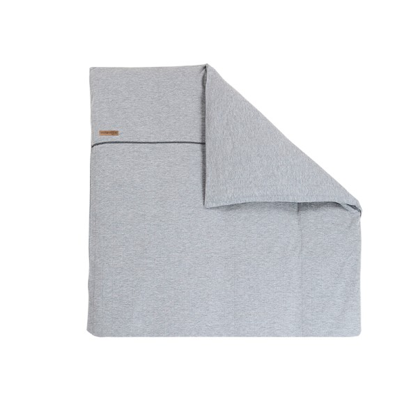 Little Dutch Kissenbezug Grey Melange 80x80cm
