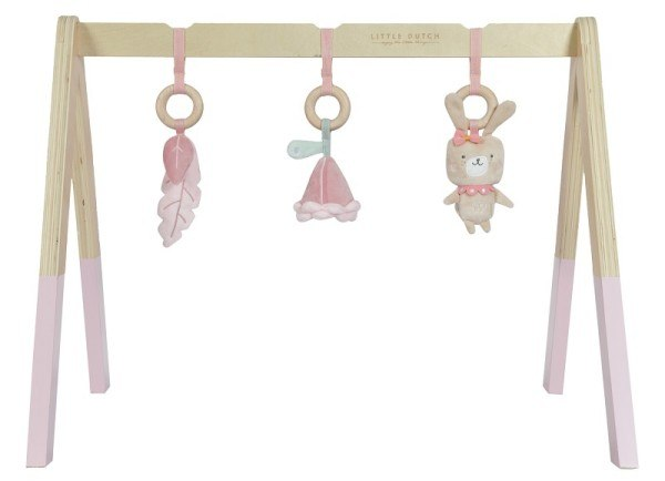 Little Dutch Babygym aus Holz Adventure Pink