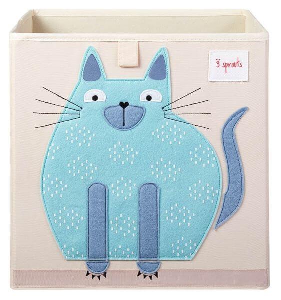 3 Sprouts Aufbewahrungsbox Katze