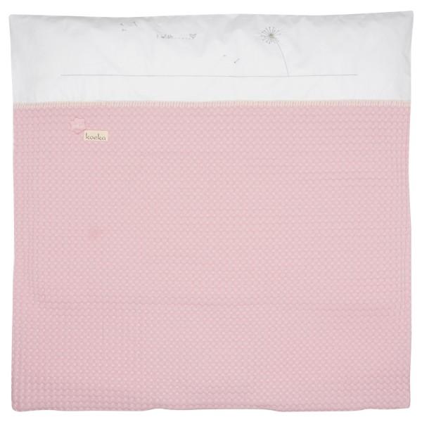 Koeka Bettbezug für Babytragetasche Antwerp Blowball old baby pink