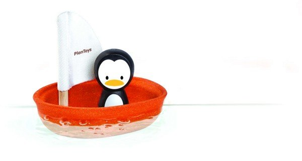 PlanToys Segelboot Pinguin