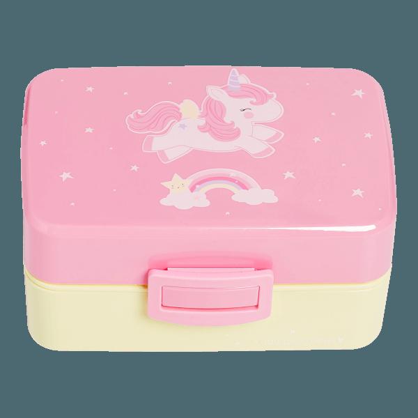 A Little Lovely Company Lunchbox Einhorn
