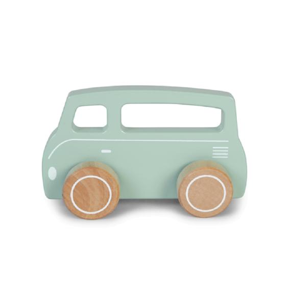 Little Dutch Van aus Holz Mintgrün