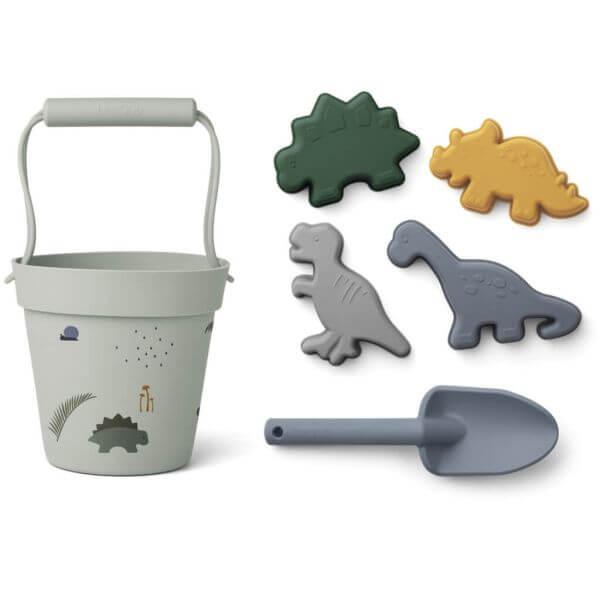 Liewood Strandspielzeug-Set Dino_LW14168-7115