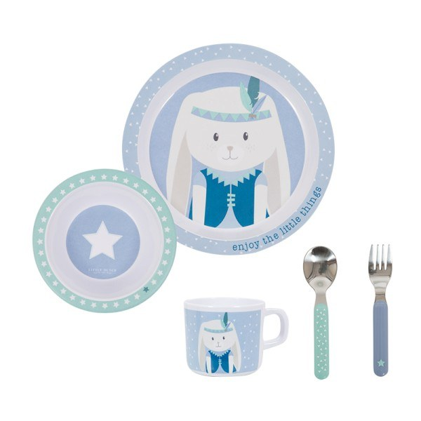 Little Dutch Geschirrset Melamine Stars