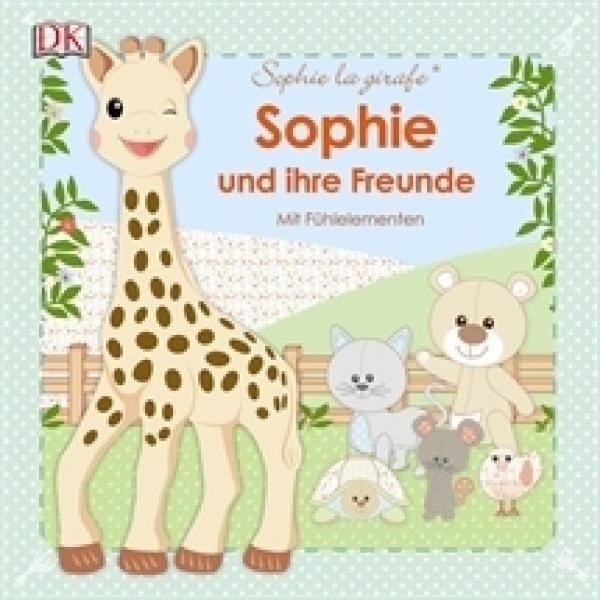 Sophie la girafe Sophie und ihre Freunde Mit Fühlelementen