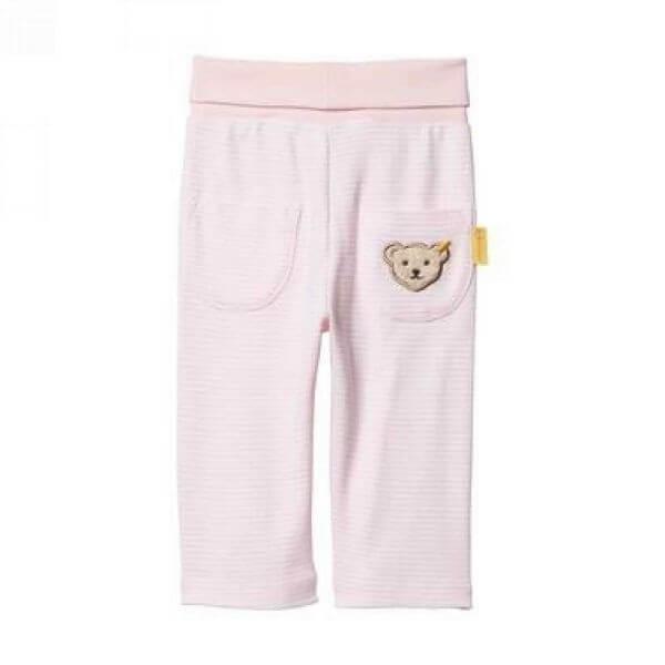 Steiff Jogginghose in rosa Gr: 62