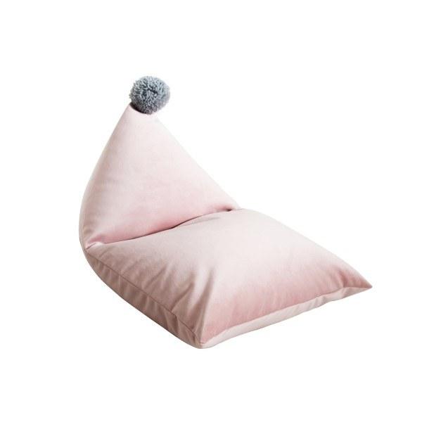 fayne Sitzkissen Pouf Rosa/Grau