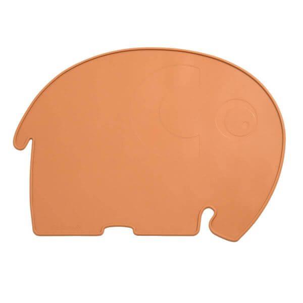 Sebra Silikon Platzmatte Elefant terracotta_SEB701030003