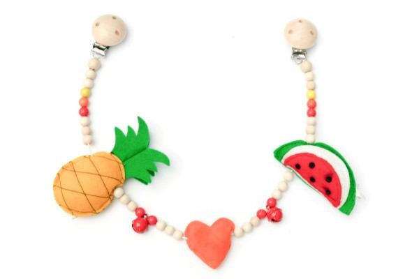 Deine Sommerliebe Kinderwagenkette Tutti Frutti