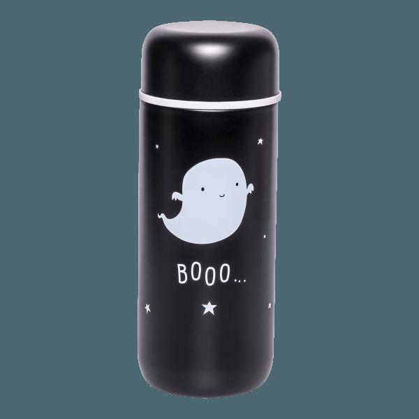 A Little Lovely Company Doppelwandige Trinkflasche Gespenst