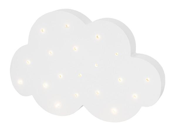 JaBaDaBaDo LED Lampe Wolke Weiß