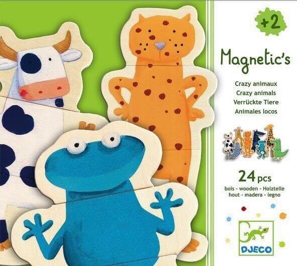 Djeco Magnetics Magnete Verrückte Tiere