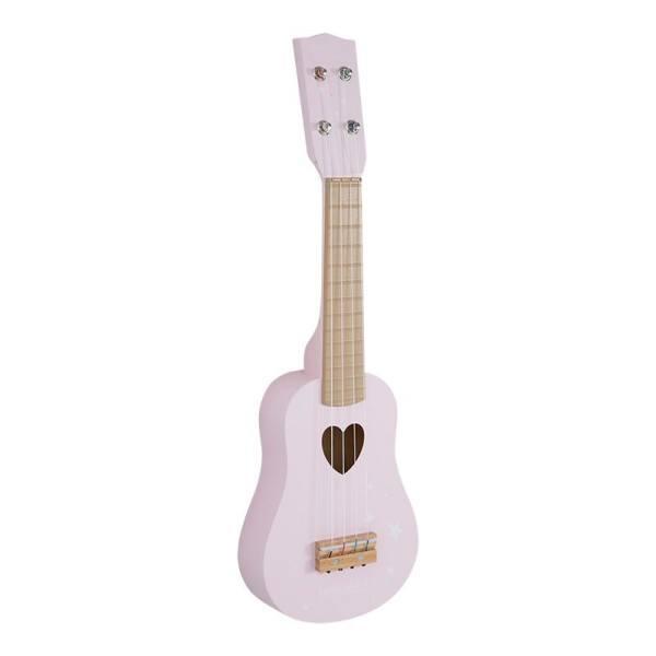 Little Dutch Gitarre Adventure Pink