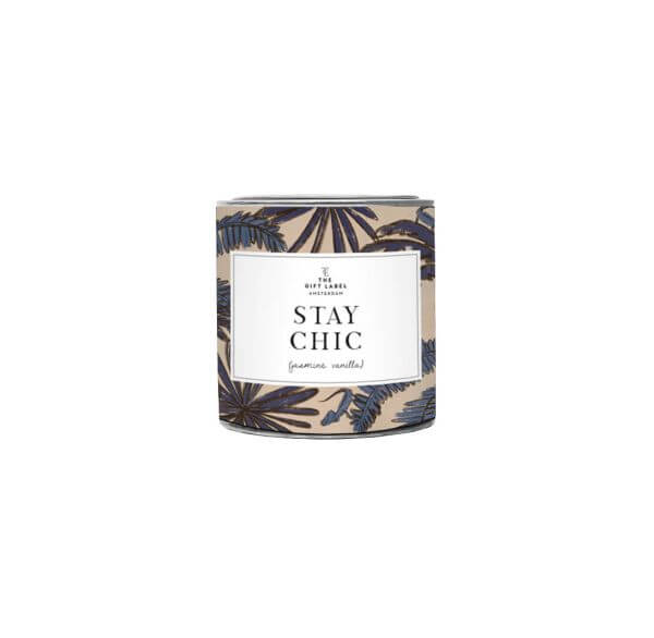 """The Gift Label Duftkerze klein """"Stay Chic"""""""