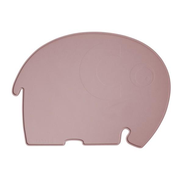 Sebra Silikon Platzdeckchen Elefant Altrosa