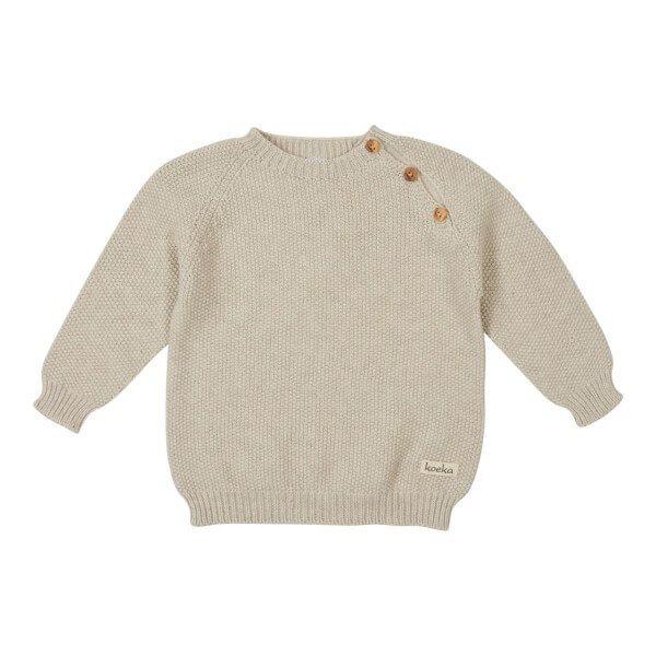 Koeka Baby Shirt Barley Stone