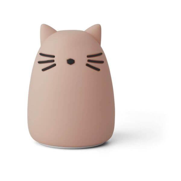 Liewood Nachtlicht Winston Katze Rosa