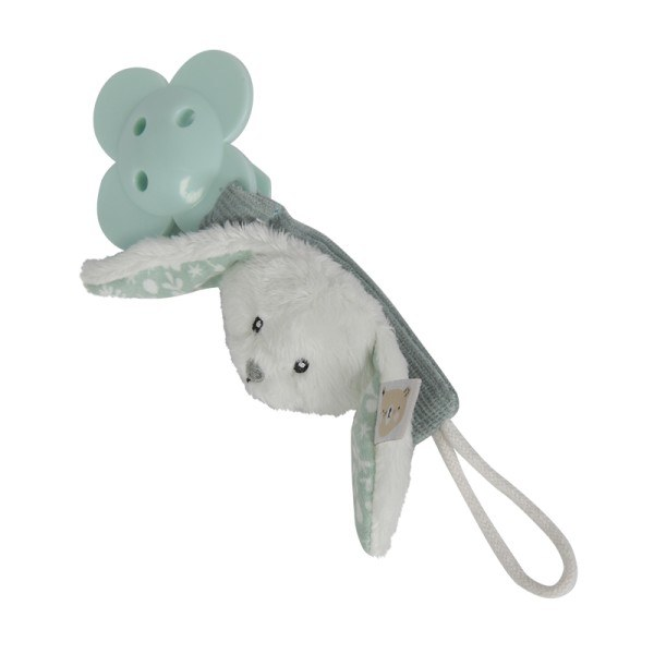 Little Dutch Schnullerkette Hase Adventure Mint