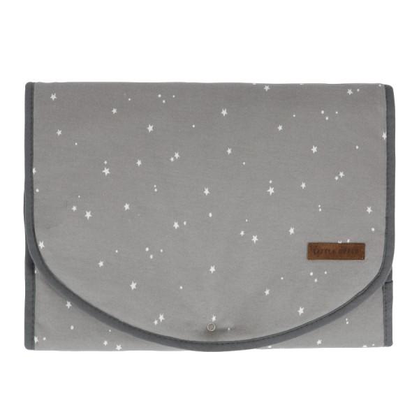 Little Dutch Wickelmatte Comfort - Little Stars Grey
