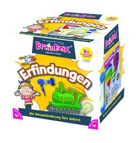 Brainbox Gedächtnis-Spiel Erfindungen