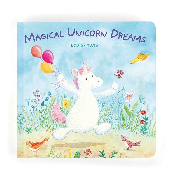 Jellycat Buch Magical Unicorn Dreams