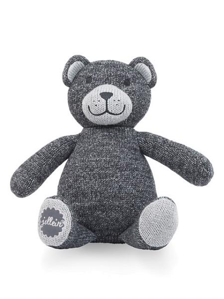 Jollein Schmusetier Teddybär natural knit Grau