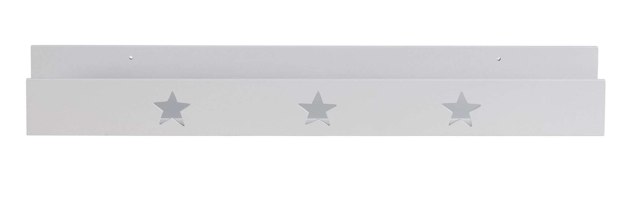kid's concept bücherleiste 70cm star weiß   picaboo.de