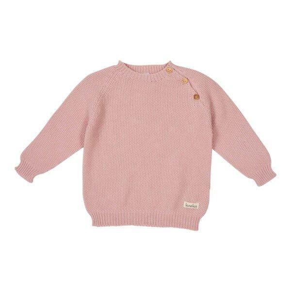 Koeka Baby Shirt Barley Dusty Pink