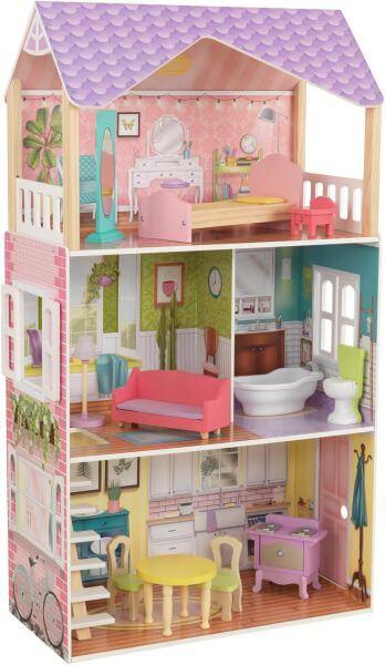 KidKraft Puppenhaus Poppy inkl. Möbel