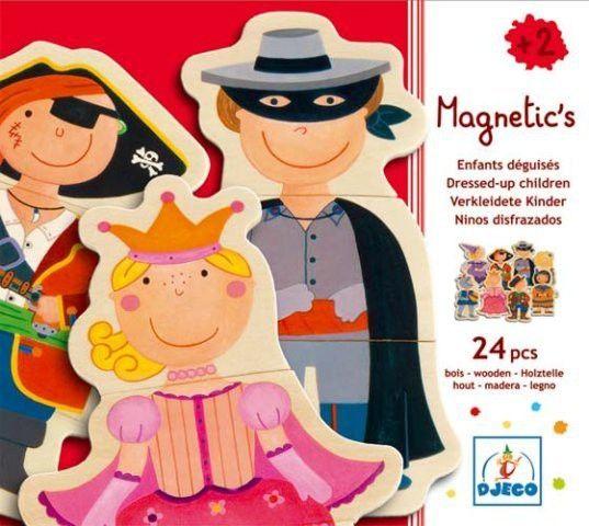 Djeco Magnetics Magnete Verkleidete Kinder