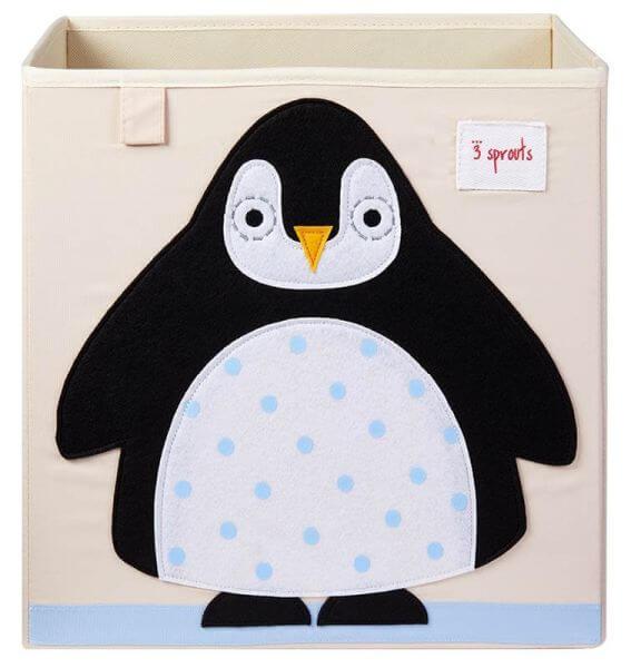 3 Sprouts Aufbewahrungsbox Pinguin
