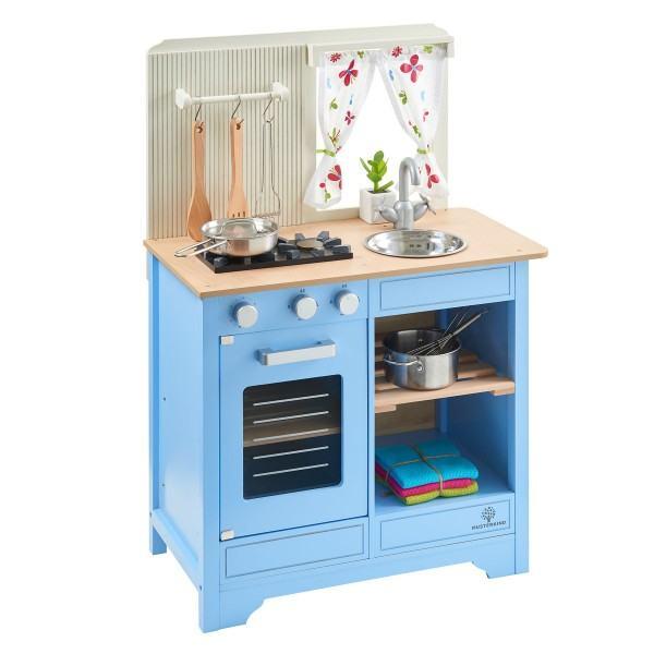 MUSTERKIND® Spielküche Lavandula Creme/Blau