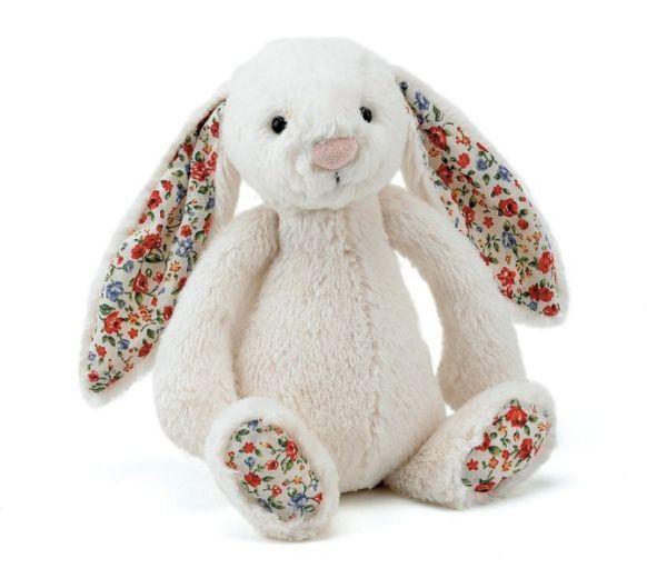 Jellycat Blossom Bashful Bunny cream Hase Kuscheltier 18 cm