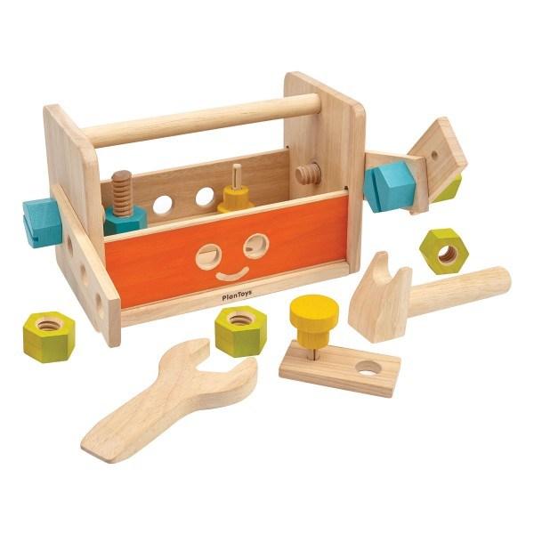 PlanToys Roboter Werkzeugkasten
