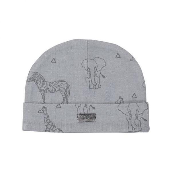 Jollein Mütze Safari grey
