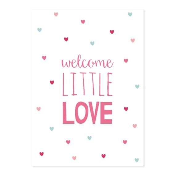 Little Dutch Karte A6 pink
