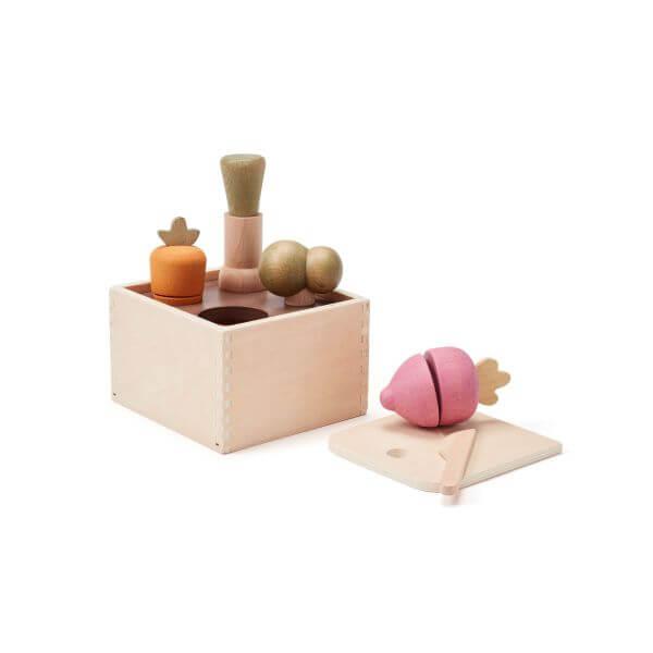 Kids Concept Sortierspiel Garten Bistro Holz