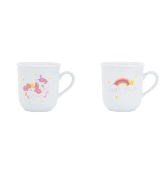 A Little Lovely Company Kindertassen 2er-Set Thirs-tea Unicorn