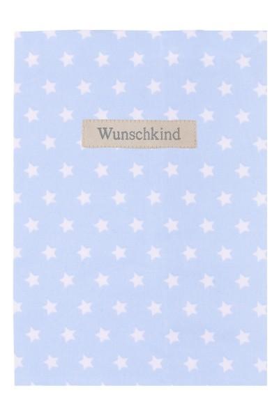 Lottas Lable Mamapass-Hülle Wunschkind Stars Hellblau