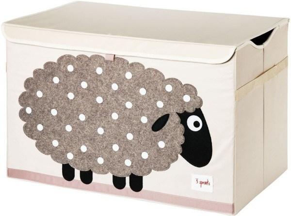 3Sprouts Aufbewahrungskiste Schaf